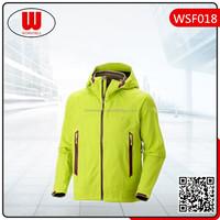 Sports waterproof windproof fluorescent jacket