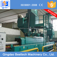 High efficient clean H profile steel shot blasting machine