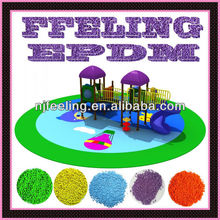 EPDM rubber flooring for outdoor playground and home garden -FN-D-14122307