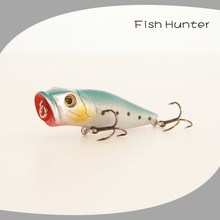 hot sell Popper Lures 65mm 9g Topwater Sea Lures Popper