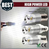 high power led DC9V-18V Yellow/Amber Car Bulb Turn Signal Lights