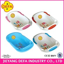 China best selling ECO-friendly big baby bathtub plastic baby bath tub with stand