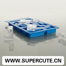 Tetris venta al por mayor en forma de silicona reutilizable mini fabricante de hielo