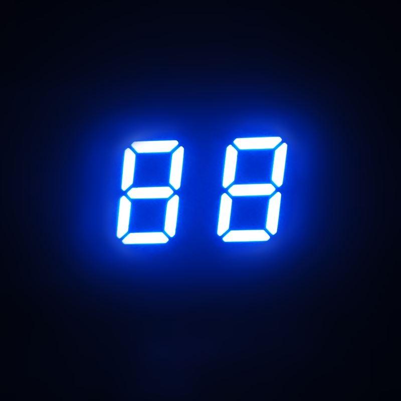 2 digits led countdown timer