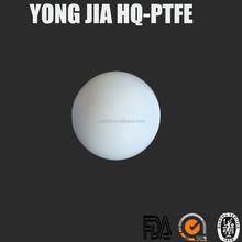 Diameter 2.65mm Plastic White color PTFE Ball in Small Size