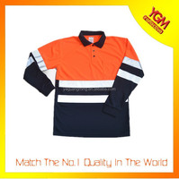 colorful high visibility t shirt polo for wholesale