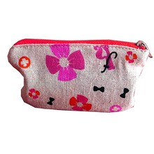 luxury custom cosmetic bags with zipper
