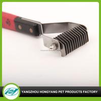 Pet dog comb hair cut brush for hair shedding tool