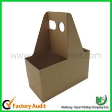 china eco-friendly cardboard 6 pack bottle carrier wholesale