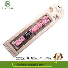 Simple Design Natural Color Pet Product Supplies Dog Collar Reflective For Animal