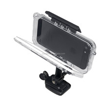 Waterproof IPX8 cell phone accessories packaging for Iphone 5/5s with mounting system