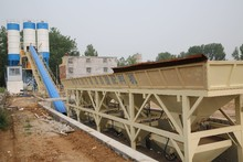 automatic stationary 60m3 concrete plant /batching and mixing of concrete