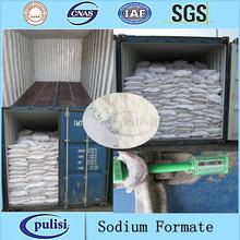 Grado de la tecnología en polvo a granel sal 92%/95%/98% formiato de sodio