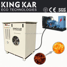 fuel power saving 2.7L/h water consumption hydrogen gas generator for boiler