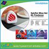 3 pcs per set custom eco fresh bowl clip toilet bowl air freshener
