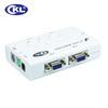 Factory price 4 port PS/2 VGA auto KVM switch