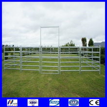 Alive Style and Livestock Product Type yard panel fence for yard panel fence for horse cattles Panel Rail
