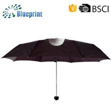 2015 New item personalized anti uv manual open foldable umbrella