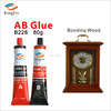 ab crystal glue bonded crystal parts