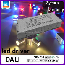 led dali dimming driver 12w constant current 250mA 350mA 500mA 650mA