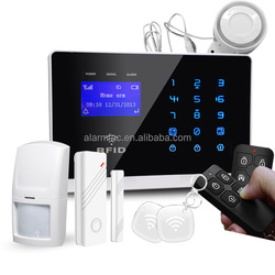 Cheap Wireless GSM Wireless Home Security Alarm System With LCD display, Voice Indication (007M2FX)