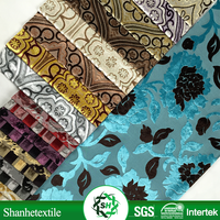 printed embroidery fabric istanbul in 100%polyester