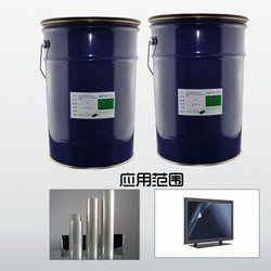 Temper Glass screen optical silicone adhesives