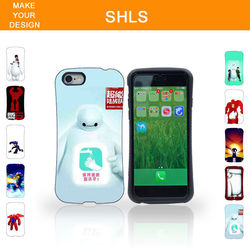 2015 New Design customizable 3D case cover for iphone6 plus