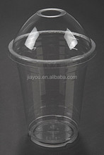 High quality disposable 5oz clear PET cold drink plastic cups, PET cold beverage cups