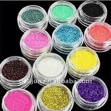 glitter powder , nail art fine powder