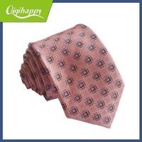 Latest prevalent pink check wholesale cheap 2012 high fashion necktie