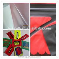 hot melt adhesive film used on Seamless pocket ,garment