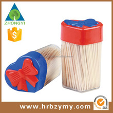 2015 hot sale wooden toothpicks