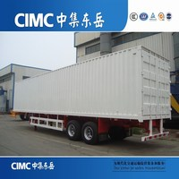 CIMC Three Axles Steel Sheet Bulk Grain Semi Trailer