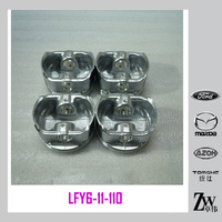 New arrival Auto Piston set & Car Engine Pist without pin oem LFY6-11-010FOR Mazda6 2.0 year after 2003