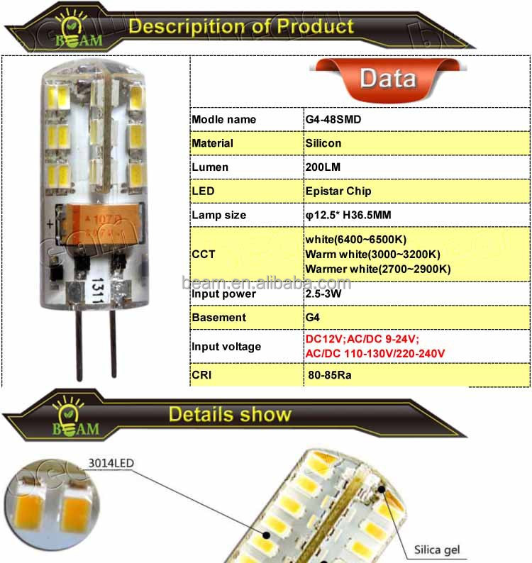 230v Led Bulb Led Bulb Light g4 Led 230v