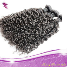 Wholesale 7A grade kinky curl 100% Malaysian human hair accept paypal & escrow