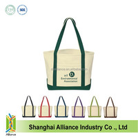 Heavy Cotton Canvas wholesale Tote Bags with front pocket