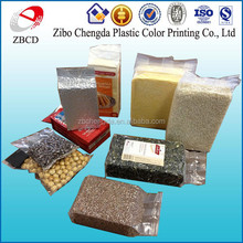 aluminum foil and plastic vacuum bag wholesale for nuts/bean/melon seeds/rice packaging