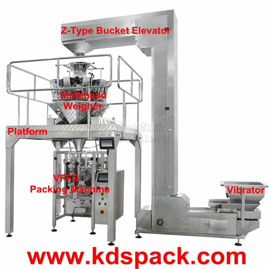 KDS-520SC A Set Of Automatic Salted Peanut Packaging Machine