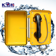 4G Base Station Manufacturer Internet Powered KNZD-03T2J Weatherproof Telephone With Door