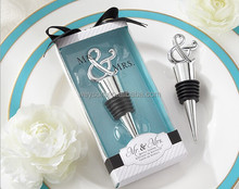 Mr & Mrs Wine Stopper Wedding Favors And Gifts Party supplies