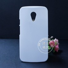 Wholesale plastic hard blank glass or anti matte 3D sublimation case for motorola G 2