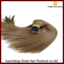 6A grade double drawn 100% human hair no mix high quality nano ring virgin double stranded hair extensions