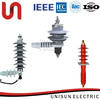 unisun 15kv 33kv polymer epoxy resin rubber electric insulator supplier in china