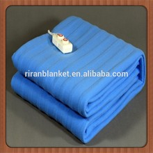 100% cotton polyester electric blanket/2015 fashionable electric blanket