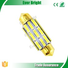 Easy to install energy saving t10 led car light with no error canbus bulbs light