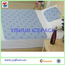 Summer use Cool Gel mat mattress topper