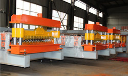 Trapezoidal Steel Roll Forming Machine, Zinc Roofing Roll Forming Machine, Cold Roll Forming Machine