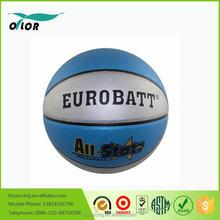 Cheap laminated standard PVC basketballs outdoor games